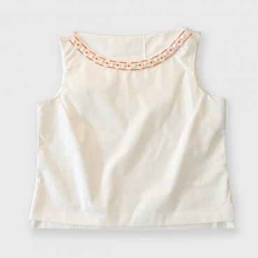 Embroidered top MAURICIA