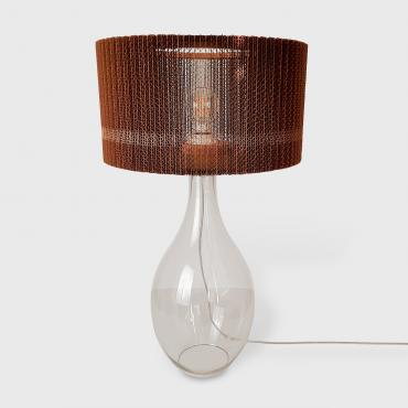Lampe d'ambiance cannelure