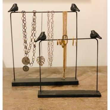 Jewel rack for earrings