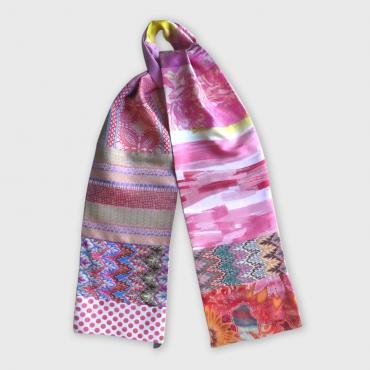 Scarf intemporelle women pink