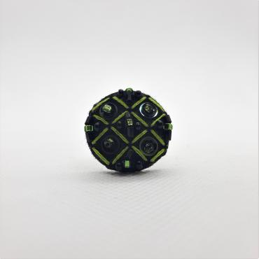 Adjustable ring Grille Verte