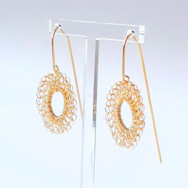 Earrings Soleil Collection Filament