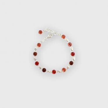 Bracelet BILLES rose-orange