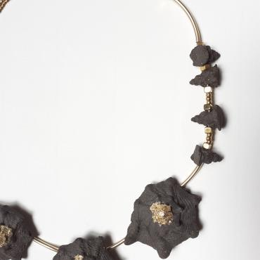 Collier grès Fanberg Coquillages