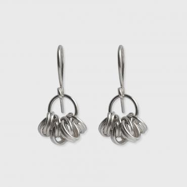 Earrings anneau silver 925