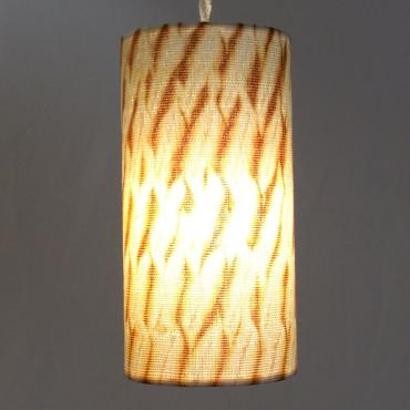 Lampshade cylindrique collection Shibori