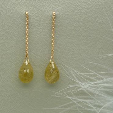 Boucles d'oreilles Cascade Simple