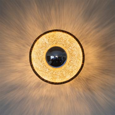 Ceiling light en Dentelle de Carton Eclipse