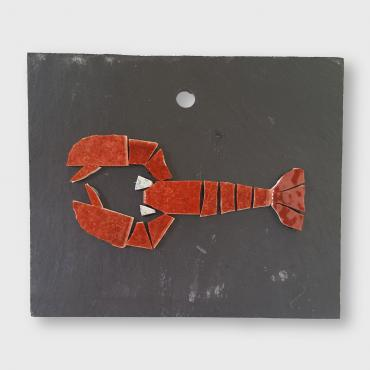 Decorative slate Lobster