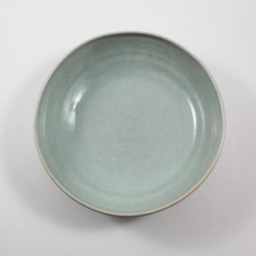 Set of 6 soup plates celadon