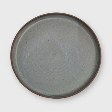 Plate Collection Minéral Gris