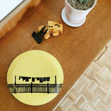 MONTHLY PLATE • Contre-jour