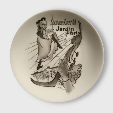 Assiette murale/Wall plate JANE