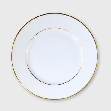 Dinner plate ELEGANCE in Limoges Porcelain