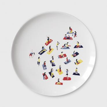 MONTHLY PLATE • Yoga