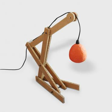 Lamp Grue Orange
