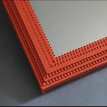 Mirror Square Orange
