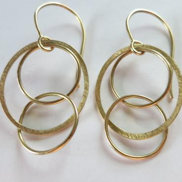 Earrings Olympia gold