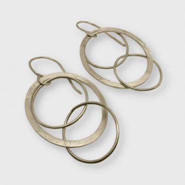 Boucles d'oreilles Olympia or