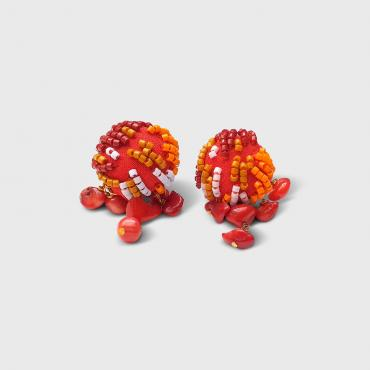 Earrings MAYA Red