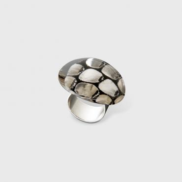 Ring MX Dacryl gallet croco