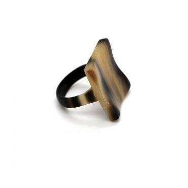 Square ring in horn