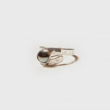 Ring Silver with Hematite 4