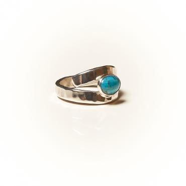 Ring Silver with Turquoise 4