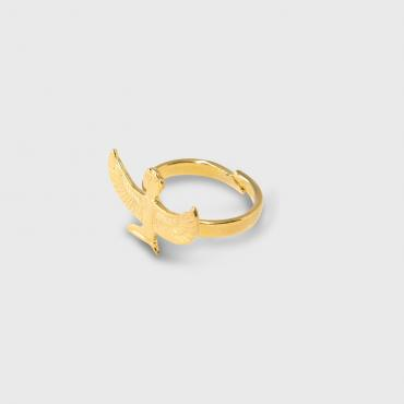 Ring déesse Isis – Méditation gold-plated