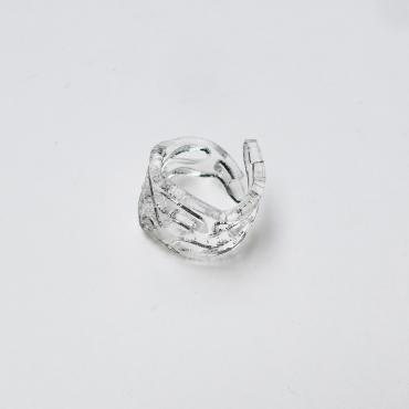 Bague Ecume - Transparent