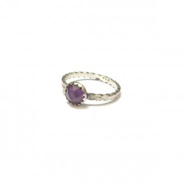 Ring Ethnic Amethyst