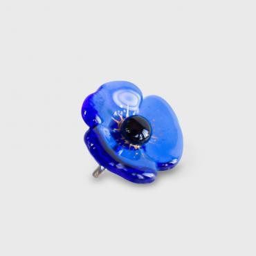 Ring FLEUR royal blue