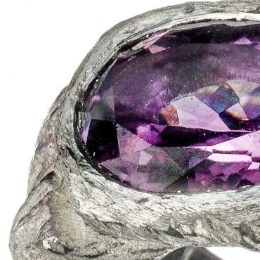 Ring Setting for an Amethyst