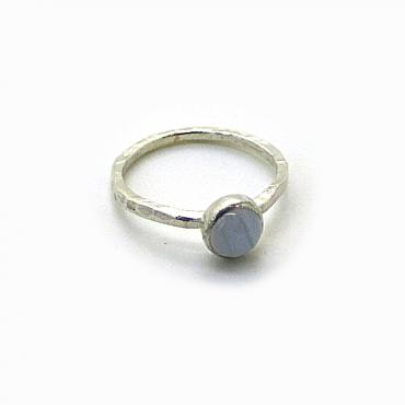Ring Stone, Silver and Agate