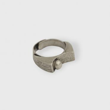 Adjustable Ring in Silver tin