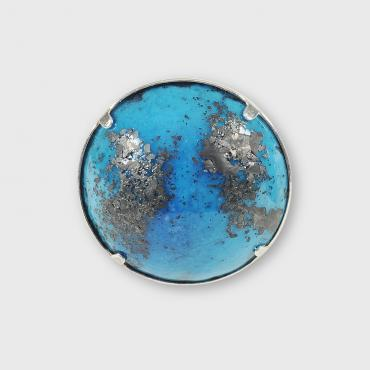 Bague Ronde ATOLL 25 mm Lagon