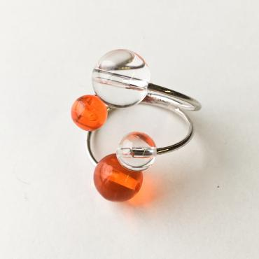 Bague Rithm L - Orange