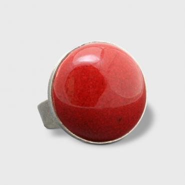 Ring Bulle red