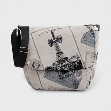 Messenger bag Bons Baisers de Paris
