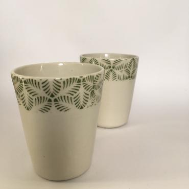 Duo of Cups Transfert feuille