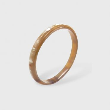 Bangle in horn - 10mm