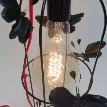 Lampe Black Butterflies