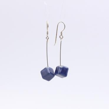 Earrings Cubic chaîne