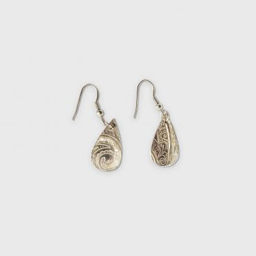 Earrings abalone