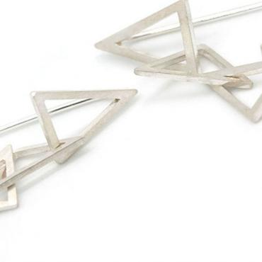 Earrings 5 triangles