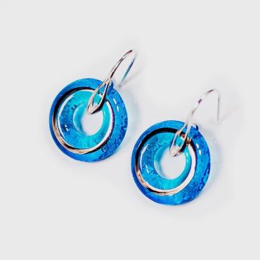 Boucles ALLIANCE turquoise