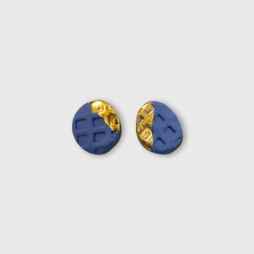 Earrings blue Collection Pixels