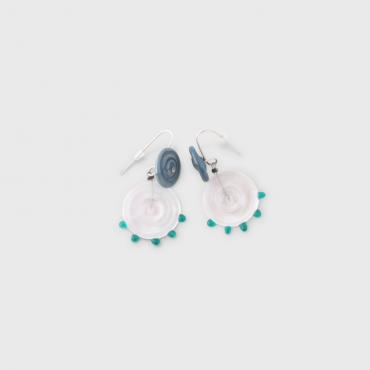 Earrings Coco Transparent