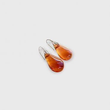 Earrings Gouttes Saffron