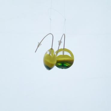 Earrings Lili Plat Yellow